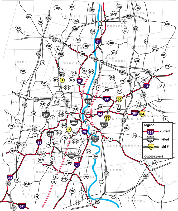 Hartfords Proposed Freeways