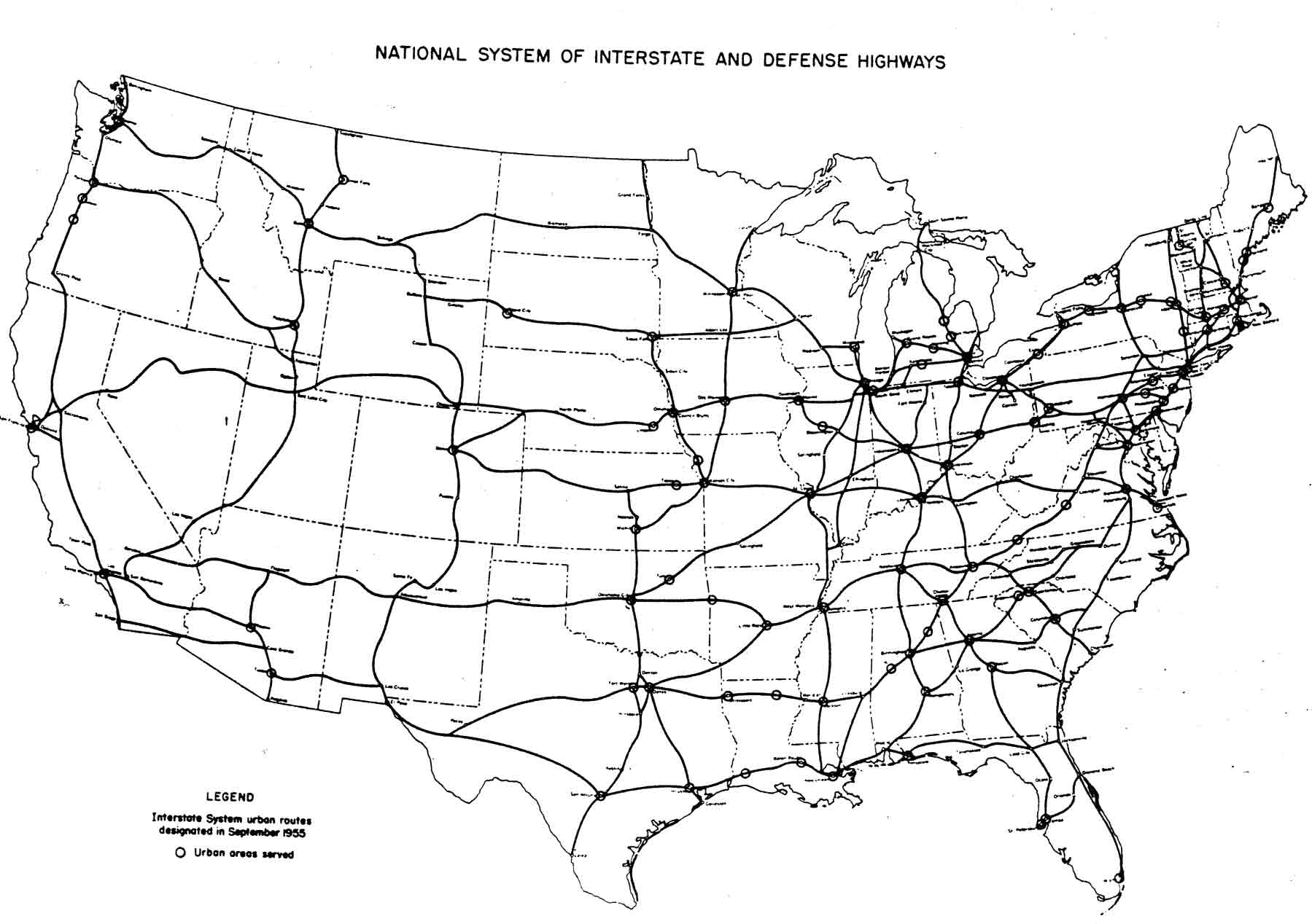 Us Map Interstate Us Map Of The United States Maps US - Interactive us highway map